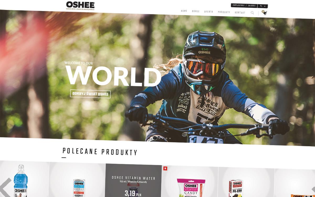 sklep internetowy oshee - homepage
