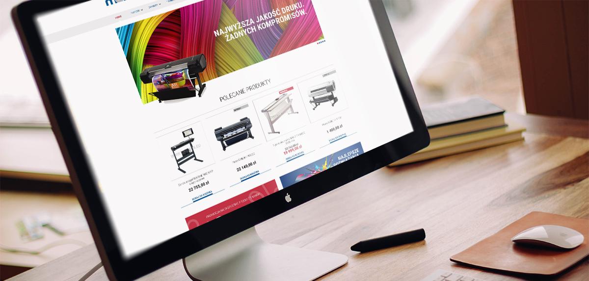 projekt graficzny sklepu internetowego mcnova